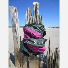 Ikat Maxi Scarf Green/Magenta now featured on Fab.