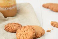 Pindakaas zeezout koekjes met kokos