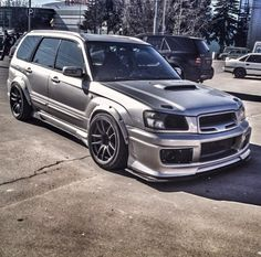 Badass Subaru Forester❤️
