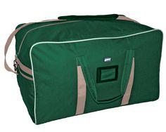Saddles Tack Horse Supplies - ChickSaddlery.com Roma Cruise Gear Bag - Hunter Green/Tan <>