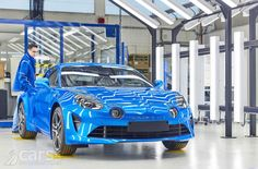 Renault has opened its new plant to build the Alpine A110 in Dieppe, and confirmed seven new Alpine dealer for the Uk opening in mid-2018.