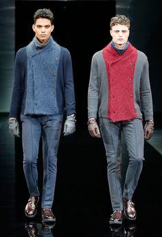 L'abbigliamento maschile per Giorgio Armani è anche un concetto di stile e comportamento. In primo piano giacca e camicia.http://www.sfilate.it/217016/piu-che-una-giacca-un-emblema-di-stile-per-giorgio-armani