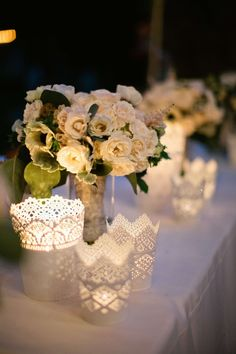 wedding centerpiece idea; photo: Sposto Photography