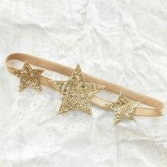 Gold star headband - Tutu du Monde