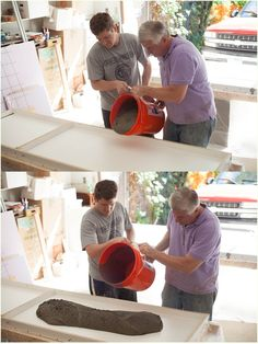DIY Concrete Countertops- beautiful, modern, affordable and not as hard as you would think!!!!