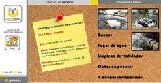Estos son algunos de los aspectos que debes considerar si quieres reportar una afectación. @Miguel Ángel Mancera @Gobierno DF