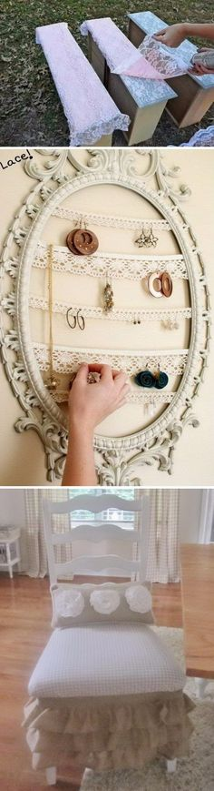 Fantistic DIY Shabby Chic Furniture Ideas and Tutorials