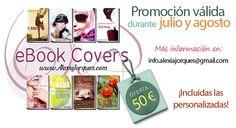 Seduzca a sus lectores con una gran portada. Aproveche nuestra promoción de verano, sólo 50€ y ¡aumente las ventas de su libro! www.alexiajorques.com