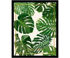 Bild Wohnzimmerwand Palm Tree WestwingNow