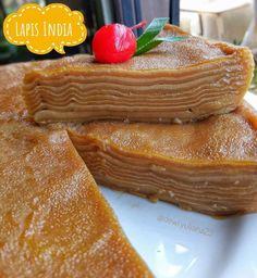 Resep kue lapis paling enak istimewa Sweet Recipes, Cake Recipes, Snack Recipes, Dessert Recipes, Cooking Recipes, Snacks, Indonesian Desserts, Asian Desserts, Indonesian Food
