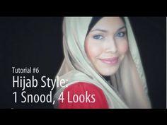 [Adlina Anis] Hijab Tutorial 6   1 Snood, 4 Looks
