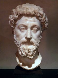 Marcus Aurelius, c. 169 AD, Liebieghaus Skulpturensammlung, Frankfurt (photo taken at the exhibition Image and power. The age of the Antonines at Toulouse) © Carole Raddato Roman History, Art History, Ancient Rome, Ancient Art, Aesthetic Statue, Toulouse, Roman Emperor, Roman Art, Classical Art