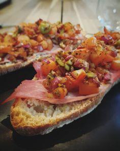 Bruscetta time! #foodporn #italian #snack #homecooked