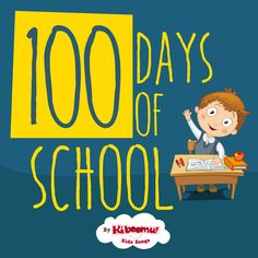 Celebrate 100 Days of School with a fun 100 Days of School song for kids!
