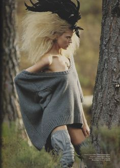 Martha Hunt by Hans Feurer for Muse Magazine