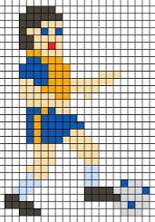 Afbeeldingsresultaat voor voetbal strijkkralen