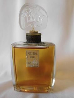 Tendance parfums  Vintage LANCOME FLECHES DOR  2 OZ  Parfum / Perfume Sealed Bottle  Very RARE!