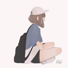 Design Character Face Anime 55 Ideas For 2019 Pretty Art, Cute Art, Aesthetic Art, Aesthetic Anime, Character Illustration, Illustration Art, 5 Anime, Anime Art Girl, Cartoon Art