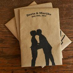 Organic seeds as a wedding favor. Laura's Eco Friendly Wedding Favors - 100 Custom Packs of Organic Seeds. via Etsy. Green Wedding, Chic Wedding, Wedding Day, Wedding Stuff, Vintage Wedding Favors, Diy Wedding Favors, Wedding Invitations, Vintage Music Posters, Wedding Anniversary Gifts