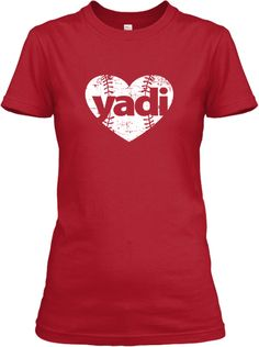 Ladies I Love Yadi Shirts for only $13. FEW HOURS LEFT!