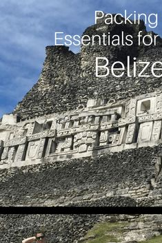 Belize Packing List: Don't Forget These Essentials At Home - 5 Suitcases Suitcase Packing Tips, Packing Tips For Vacation, Vacation Trips, Peru Vacation, Travel Tips For Europe, Places To Travel, Packing Lists, Travel Destinations, Belize Vacations