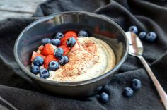 Mandlová kaše Baking Recipes, Healthy Recipes, Gaps Diet, Lunch Snacks, Low Carb Keto, Granola, Love Food, Food And Drink, Sweets