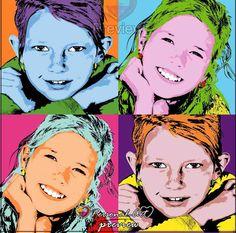 Personal-art.nl. Pop-art van jouw foto! Warhol stijl