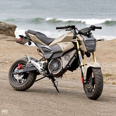 The Grom Reaper: A electric Honda Grom built by a Zero Motorcycles designer Motorcycle Images, Motorcycle Design, Motorcycle Quotes, Ride Out, Engine Swap, After Hours, Harley Davidson Sportster, Mini Bike, Custom Bikes