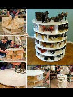Zelf te maken schoenenkast