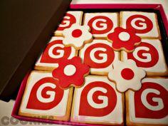 Así era la presentación de las galletas que dimos a nuestros amigos de Gestiona Radio tras su estupenda entrevista.