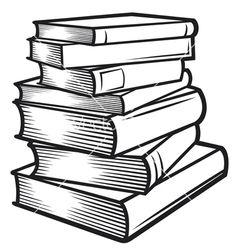 stacked books clipart clip art books black and white bible rh pinterest com black and white comic book clipart jungle book black and white clipart