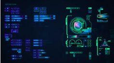 Le cinéma et les interfaces fictives (les FUI : fantasy user interfaces) : GUI prométhéus