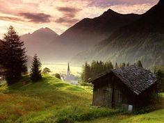 Austria Provinces - Tyrol (Tirol) Hotel Accommodation Tourist Information Travel Guide Transportation Natur Wallpaper, Tyrol Austria, Hd Wallpapers 1080p, Widescreen Wallpaper, Computer Wallpaper, Mobile Wallpaper, Nature Hd, Saint Martin, Mountain Village