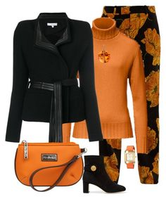 """Fall outfit"" by minimouse195 on Polyvore featuring Gucci, IRO, Hadaki, Dolce&Gabbana and Tory Burch"