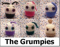 Grumpies free amigurumi crochet pattern