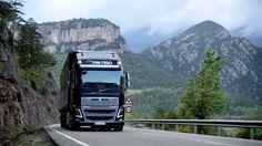 Nice view. #volvotruck #volvo #truck #mountains #landscape @VolvoTrucks