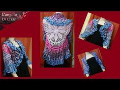 Realizziamo insieme una sciarpa...con le maniche. Un modello versatile da indossare in più modi. I miei contatti mi trovi sulla pagina facebook ref=aymt_home...