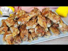 Si pruebas estas Alitas de pollo al ajillo te aseguro que no querrás otras. ¡COMPRUEBALO! - YouTube Peru, Chicken Wings, Shrimp, Youtube, Food, Gastronomia, Chicken, Baked Chicken Fingers, Chicken Curry