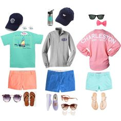 cliche preppy summer outfits