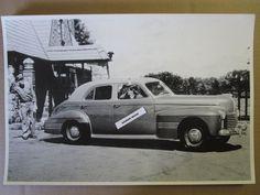 "1941 Pontiac Custom Torpedo 4 door Sedan 12 X 18"" Black & White Picture *"