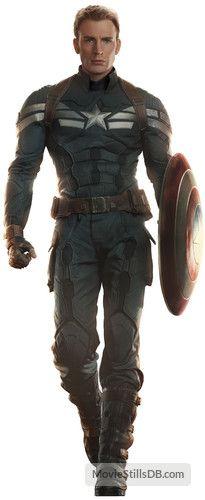 Captain America: The Winter Soldier  - Promo shot of Chris Evans