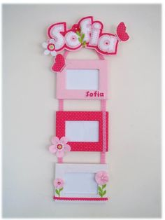 Photo Frame - The Most Effective Piece To Learn When Searching For Photography Info Kids Crafts, Baby Crafts, Felt Crafts, Diy And Crafts, Arts And Crafts, Paper Crafts, Frame Crafts, Diy Frame, Felt Diy