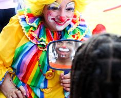 Clowns are great for kid's birthday parties, fairs, and festivals.