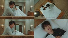 Gong Yoo and Lee Dong-Wook funny scene - 2