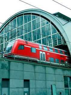 Alexanderplatz train station, Berlin.