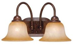 Vaxcel USA PSVLD002WP Prescott 2 Light Bathroom Vanity Lighting Fixture in Bronze, Glass by Vaxcel. $37.35. For over 20 years, Vaxcel International has been a premier supplier of residential lighting products. Our product offering is composed of more than 2000 items, ranging from builder-ready fixtures and ceiling fans to designer chandeliers and lamps, in the latest styles and finishes. We are known in the industry for offering a full selection of products at competitive pric...