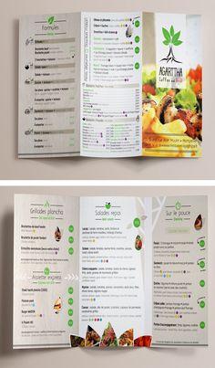 #creation du #menu pour le #restaurant #grill : Agarttha coffee and grill à Montpellier ! La mise en page a été crée et conçu pour être en cohérence avec le lieu et refléter l'image de celui-ci à travers les teintes #beige #naturel #bois ! Si vous aussi vous souhaitez des supports de communication à l'image de votre #entreprise contactez-nous : http://l-imaginee.com/contact/