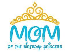 INSTANT DOWNLOAD Mom Princess Tiara Elsa by FantasylandPrintable, $5.00