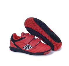 Umbro Cup TF Soccer Cleats Red Black White