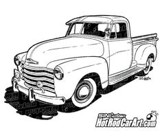 1970 Chevy C10 Truck clipa art